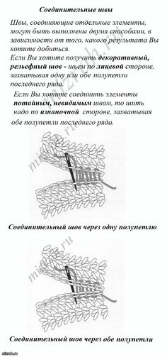 More about the connection elements, crocheted. Comments: LiveInternet - Russian Service Online Diaries
