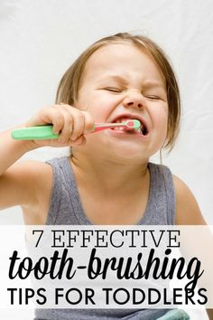 Brushing your toddlers teeth. Another nighttime battle to top off the day?