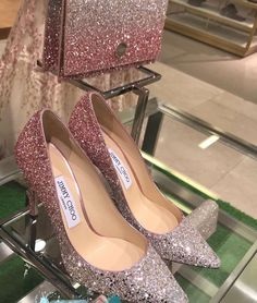 Jimmy Choo uploaded by ivalina_borisova on We Heart It Fancy Shoes, Me Too Shoes, Dress Shoes, Shoes Heels, Pumps, Dress Skirt, High Heel Boots, Shoe Boots, Talons Sexy
