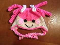 Lalaloopsy Crochet Hat by Hooklineandhats on Etsy. Mya would love this one too!