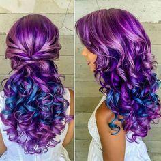 Are you looking for a raw hair ? Pretty Hair Color, Exotic Hair Color, Brazilian Hair Bundles, Corte Y Color, Purple Hair, Hair Today, Gorgeous Hair, Pretty Hairstyles, Hair Lengths