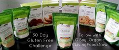 Introduction to the #LivingNowFoods 30 Day Gluten Free Challenge by @O'Boy! Organic