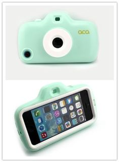 Nine States Candy Color Funny Special Lens and Filter Imitation Toy Camera Case for iPhone 5. :)