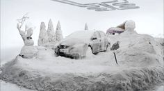 Honda Civic 'Hot & Cold' - a fun new on-line film. At Honda, cars are tested to the extreme, from to degrees! Tv Commercials, Fuel Economy, Honda Civic, 3d Design, Ads, Advertising, Mount Rushmore, Cold, Honda Cars