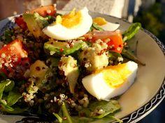 Quinoa salát s vejci – S Julinkou v kuchyni
