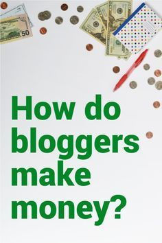 Want to start making money on your blog? Read this overview on the top 5 ways bloggers earn an income.