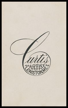 Photographer's printed backmark imprint on carte de visite photograph