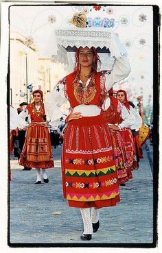 Viana do Castelo, Portugal typical costume