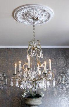 Antique Home and Lifestyle - Ralph Lauren Wallpaper Collections.  Room Design by Rachel Hazelton Interior Design