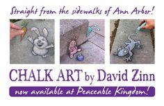 David Zinn David Zinn, Ann Arbor, Chalk Art, Street Artists, Cartoon Art, Side Walk, Canvas, Creative, 2d