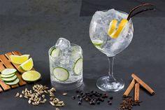 Tipos de ginebra según su sabor: clásicas, cítricas, especiadas, herbales, florales y afrutadas