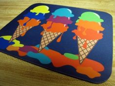 Shop Ice Cream Mousepad created by nyxxie. Personalize it with photos & text or purchase as is!
