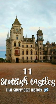 Scotland is full of history, culture and natural beauty. But what about its castles? Here we share 12 castles to visit in Scotland that simply ooze history. English Castles, Scottish Castles, Scotland Castles, Castles To Visit, Solo Travel Tips, Prague Travel, Fairytale Castle, Beautiful Castles, Beautiful Scenery