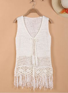crochet-top-Pure-hand-woven-hollow-womens-tops-fashion-2015-Retro-fringed-knit-cardigan-vest-jacketket.jpg (359×489)