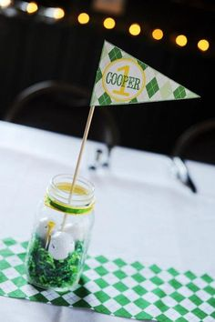 Masters Golf 1st Birthday Party