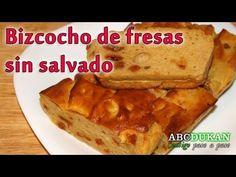 ▶ Bizcocho de fresa sin salvado Dukan - Receta Fase Ataque - YouTube