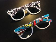 Got sunglasses? Bored of the plain facade that frame your face? Customise them! All you need are a few Sharpie pens and an idea to transfer onto your glasses.