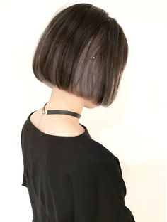 Ideas Haircut Carre Color Colour For 2019 Asian Short Hair, Short Brown Hair, Short Hair Cuts, Bob Hair Color, Hair Color Streaks, Shot Hair Styles, Curly Hair Styles, Hair Color Underneath, Haircuts For Long Hair
