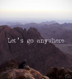 Let's go anywhere. #kitsakis
