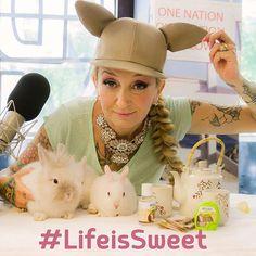 """#LaPina La Pina: Ecco la mia """"sweetphoto"""" per il Concorso #LifeisSweet di Misura Stevia. In palio ci sono premi pazzeschi!! Scopri come vincere su misurastevia.it #concorso #sweetness #rabbit #tea #MisuraStevia #stevia #photo #competition #sweet"""