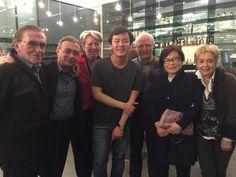 Met pianist Tae-Hyung Kim na zijn fenomenaal concert in De Singel.