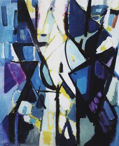 ilovetocollectart: Antonio Corpora: Barche, 1953