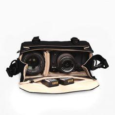 Raw Hydra Olive Black Kameratasche Drohnentasche Fahrradtasche ZKIN
