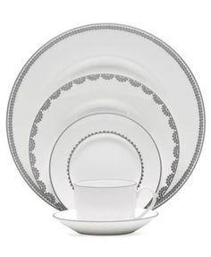 Vera Wang Wedgwood Dinnerware, Flirt Collection