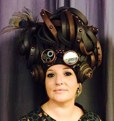 Steampunk wig by Allemaal Tejater