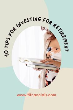 10 Tips For Saving For Retirement + My Retirement Plan Investing For Retirement, Early Retirement, Retirement Planning, Saving Tips, Saving Money, Debt Payoff, Student Loans, Budgeting, How To Become