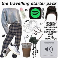 uwu p on im rly rly bored help; Road Trip Packing, Road Trip Hacks, Packing List For Travel, Travelling Tips, Traveling, Road Trip Outfit, Packing Hacks, Fun Travel, Vacation Packing