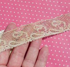 Antique Lace Vintage Lace Valenciennes Lace Cotton by dishyvintage