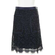 JASON WU black lace overlay Skirt ($2,085) ❤ liked on Polyvore