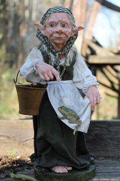 Кикимора. Авторская кукла Катрушовой Татьяны / Изготовление авторских кукол своими руками, ООАК / Бэйбики. Куклы фото. Одежда для кукол