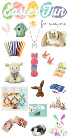 Still struggling with what to put in your child's basket this year? Here's loads of eye candy to get you inspired. Ideas for handmade / diy items too