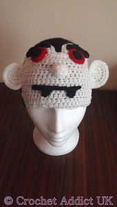 Ravelry: Halloween Dracula Vampire Hat 1 yr+ pattern by Crochet AddictUK