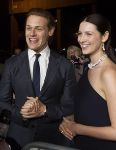 Outlander: Sam Heughan and Cait Balfe                                                                                                                                                                                 More