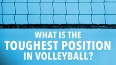 The toughest position in volleyball Volleyball Tryouts, Volleyball Skills, Volleyball Outfits, Volleyball Quotes, Coaching Volleyball, Volleyball Pictures, Volleyball Drawing, Volleyball Positions, Volleyball Wallpaper