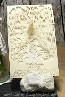 Handmade by Fanny: Blog Hop Stamp Impressions- let's get married!