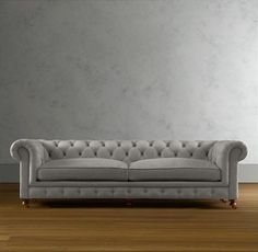 A classic Chesterfield