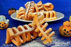 Słodkie żeberka - smażone ciasteczka na halloween