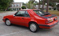 86 Mustang SVO -Looks like  my Dads