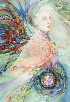 """""""Spiral Dance 1"""" par Helena Nelson-Reed"""