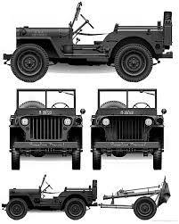 Resultado de imagem para plantas de construção de uma miniatura do jeep 1951