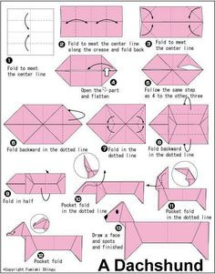 Origami. Kudos to the creator. So much fun! Thank You!