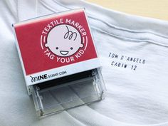 Mine Stamp, discovered by The Grommet, makes it easy to personalize your belongings so you can keep what's yours.