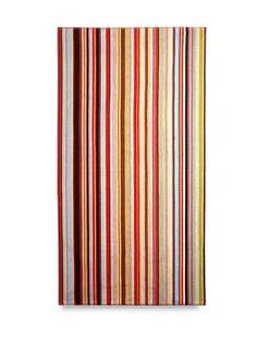 Paul Smith  Multi-Stripe Beach Towel  $145.00 #SaksLLTrip
