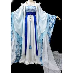 Ancient Chinese Clothing China Dance Costumes Traditional Hanfu... via Polyvore featuring 291 venice