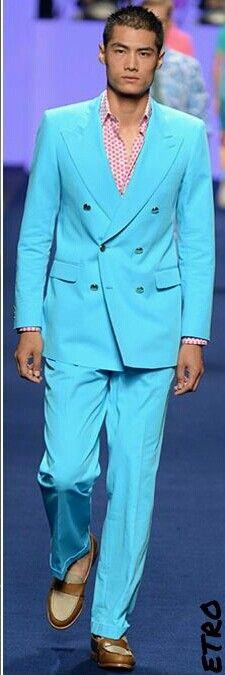 #Men's wear   Etro   Spring Summer 2014 #Moda Hombre