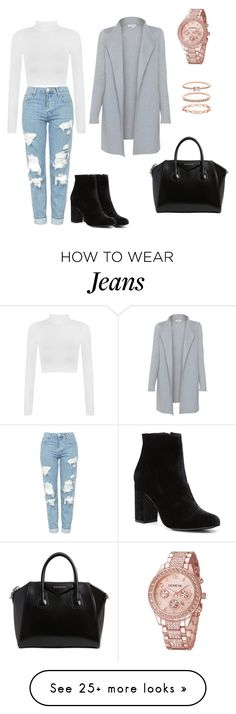 """Mom Jeans."" by olympia-valance on Polyvore featuring Topshop, WearAll, Kinross, Witchery, Givenchy and Accessorize"
